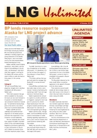 LNG Unlimited – 4 October 2016