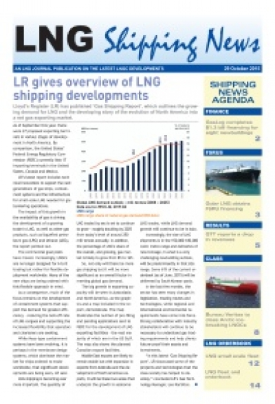 LNG Shipping News - 29 October 2015