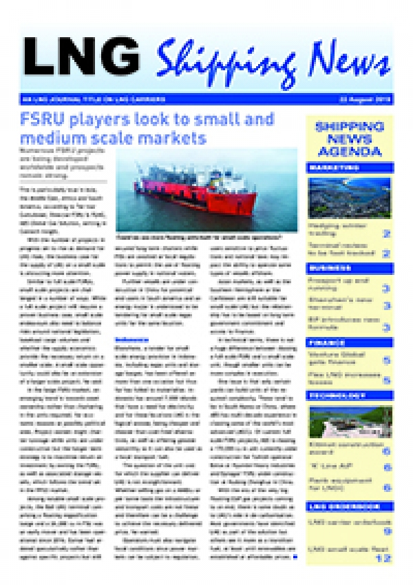 LNG Shipping News - 22 August 2019