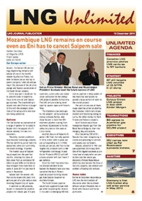 LNG Unlimited - 16 December 2014
