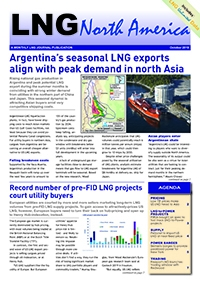 LNG North America – October 2019