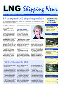 LNG Shipping News - 12 October 2017