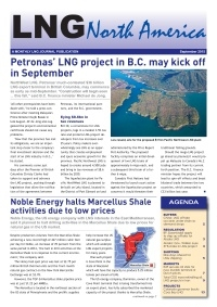 LNG North America - September 2015