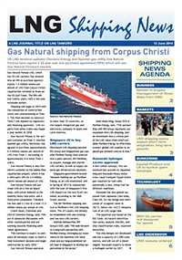 LNG Shipping News - 12 June 2014