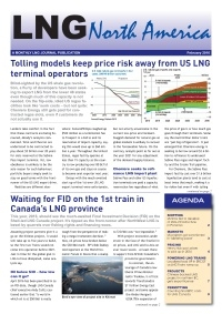 LNG North America - February 2016