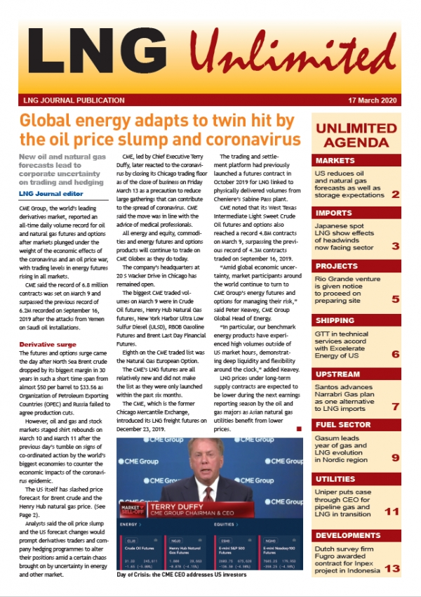 LNG Unlimited – 17 March 2020