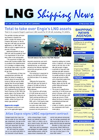 LNG Shipping News - 23 November 2017