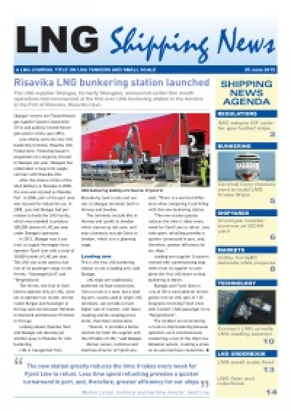 LNG Shipping News - 25 June 2015