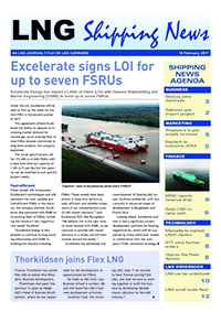 LNG Shipping News - 16 February 2017
