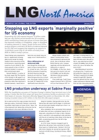 LNG North America - January 2016
