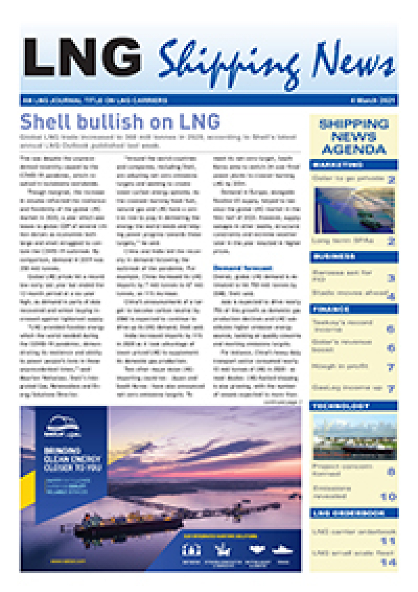 LNG Shipping News - 4 March 2021