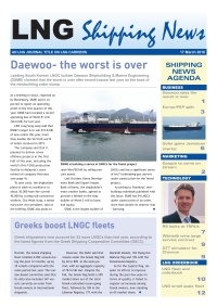 LNG Shipping News - 17 March 2016