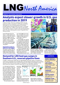LNG North America – April 2019