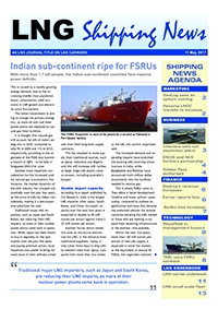 LNG Shipping News - 11 May 2017