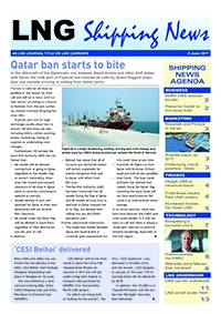 LNG Shipping News - 8 June 2017