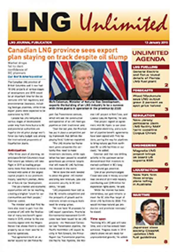 LNG Unlimited - 13 January 2015