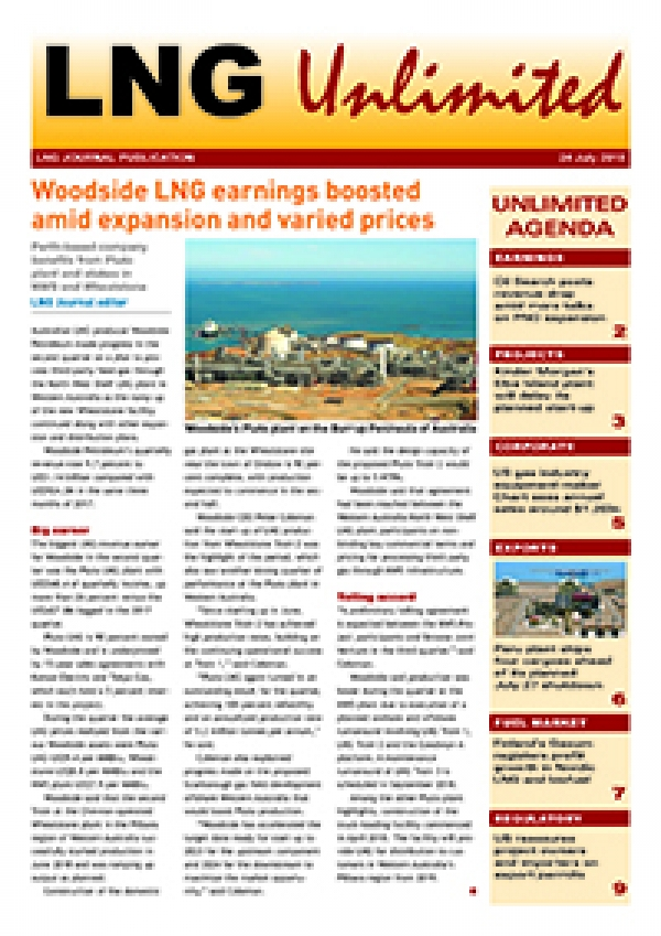 LNG Unlimited – 24 July 2018