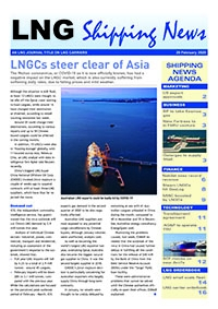 LNG Shipping News - 20 February 2020