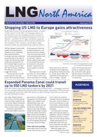 LNG North America – July/August 2016