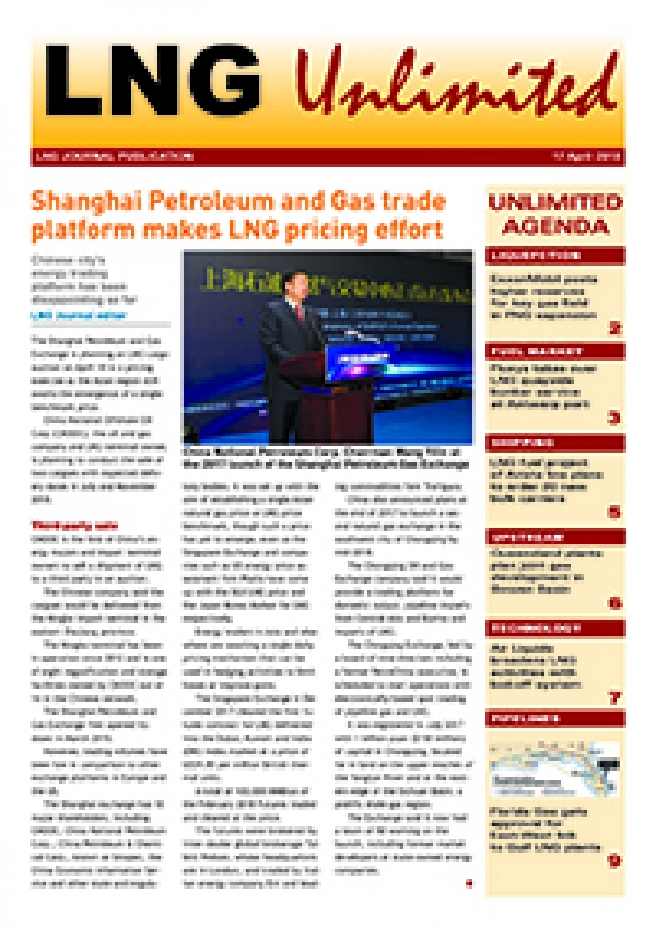LNG Unlimited – 17 April 2018