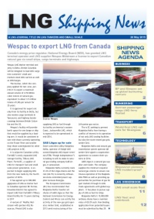LNG Shipping News - 28 May 2015