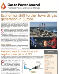 Gas to Power - April 17, 2020