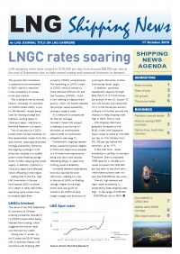 LNG Shipping News - 17 October 2019
