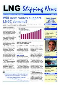 LNG Shipping News - 17 August 2017