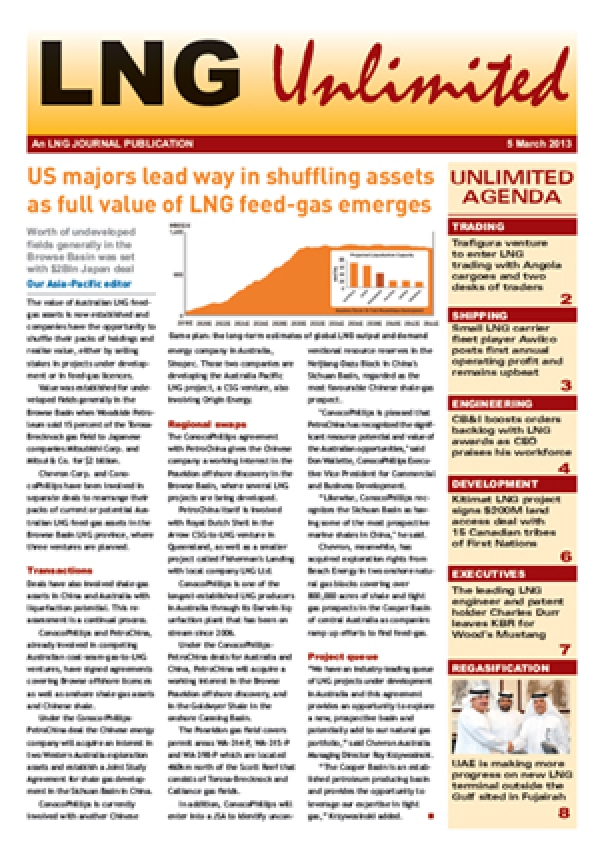 LNG Unlimited - 05 March 2013