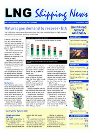 LNG Shipping News - 15 October 2020