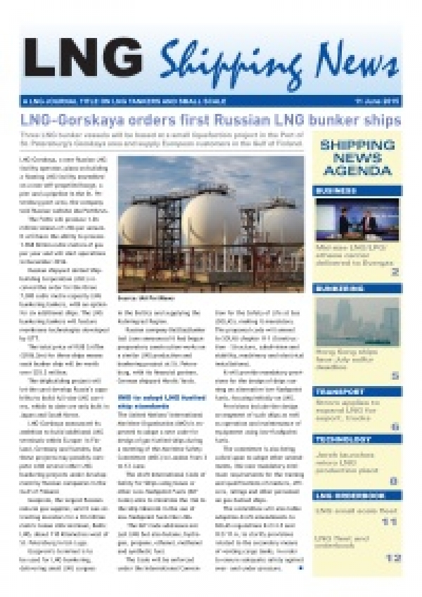 LNG Shipping News - 11 June 2015