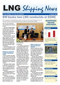 LNG Shipping News - 2 October 2014