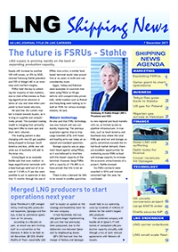 LNG Shipping News - 7 December 2017