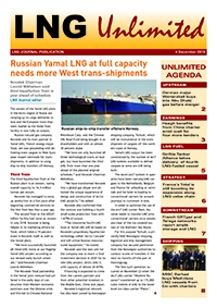 LNG Unlimited – 4 December 2018