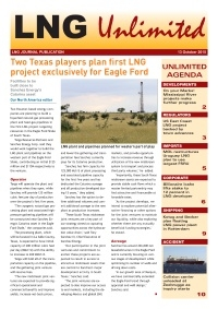 LNG Unlimited - 13 October 2015