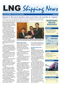 LNG Shipping News - 01 May 2014