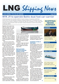 LNG Shipping News - 03 April 2014