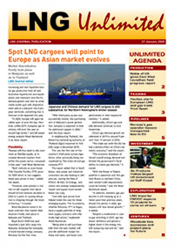 LNG Unlimited – 21 January 2020