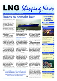 LNG Shipping News - 3 September 2020