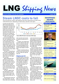 LNG Shipping News - 16 April 2020