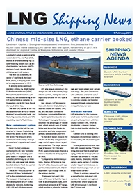 LNG Shipping News - 5 February 2015