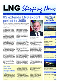 LNG Shipping News - 6 August 2020