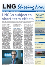 LNG Shipping News - 28 November 2019