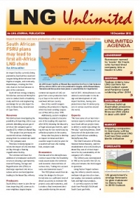LNG Unlimited - 18 December 2012