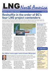 LNG North America - October 2015