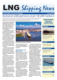 LNG Shipping News - 21 August 2014