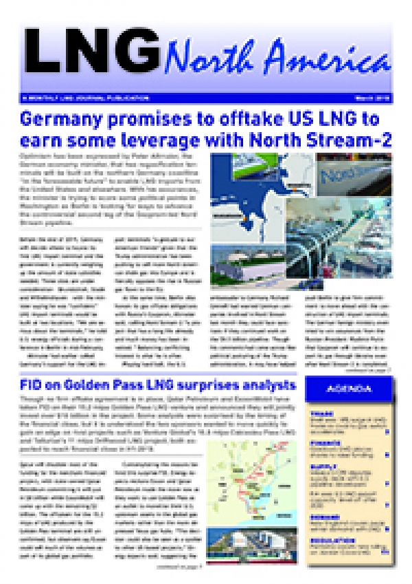 LNG North America – March 2019