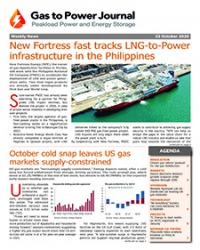 Gas to Power – October 23. 2020