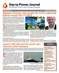 Gas to Power – September 4. 2020