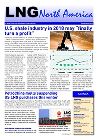LNG North America – September 2018